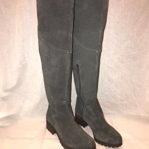 Lucky Brand Boots Grey size 9.5